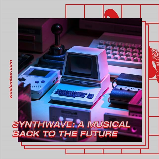Synthwave is a musical journey to halcyon days. Link in bio. • • • • • #vaporwave #synthwave #cyberpunk #vaporwaveaesthetic #vaporwaveaesthetics #synth #synthesiser #cyberpunkart #cyberpunkaesthetic #themidnight #80saesthetic #80s #80smusic #commodore64 #gameboy #retro #retroaesthetic #cassette #gunshipmusic #timecop1983 #fm84 #comtruise #design #retrodesign