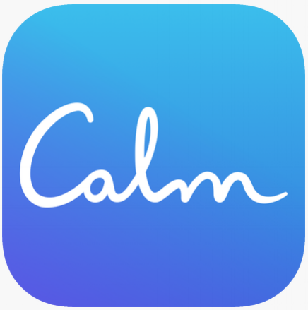 Calm - Calm is a great meditation app that has soothing sounds, guided meditations, and a sleep story component for those restless nights! Meditation is a helpful tool for refocusing your attention on the present when your mind is overwhelmed with thoughts of the past or too busy worrying about the future. This app is free to download but requires payment to unlock some of the extra features.