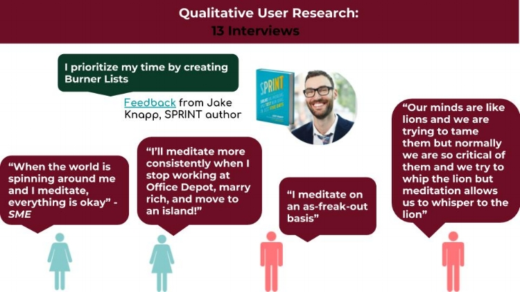 Qualitative User Research Insights