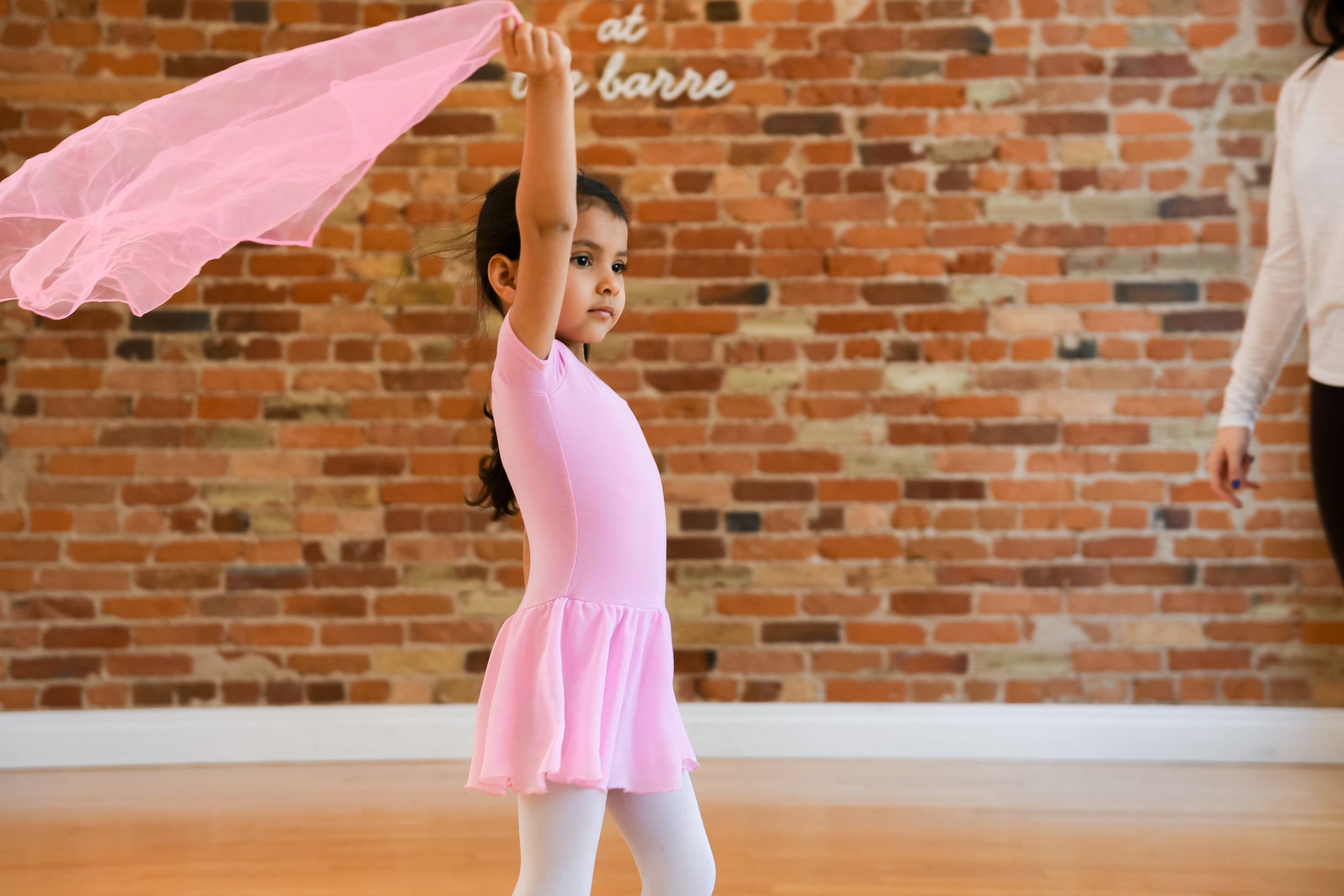 Intro to dance - CLASSICAL DANCE - This course is designed for tiny dancers that are currently 3 – 4 years old. This class introduces young dancers to the art of movement by exploring and expanding their range of body awareness. Children work on basic ballet positions, techniques, musicality, and coordination. Children take this class without the participation of a parent/guardian.