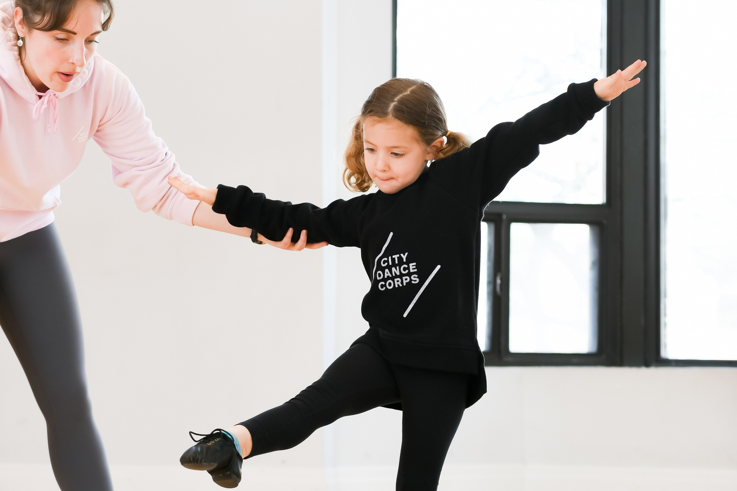 JAZZ - Jazz dance is a variety of techniques influenced by many dance forms and is one of the most popular and essential styles. This class focuses on progression, coordination, isolation, technique, and performance. It is high in energy and a lot of fun!