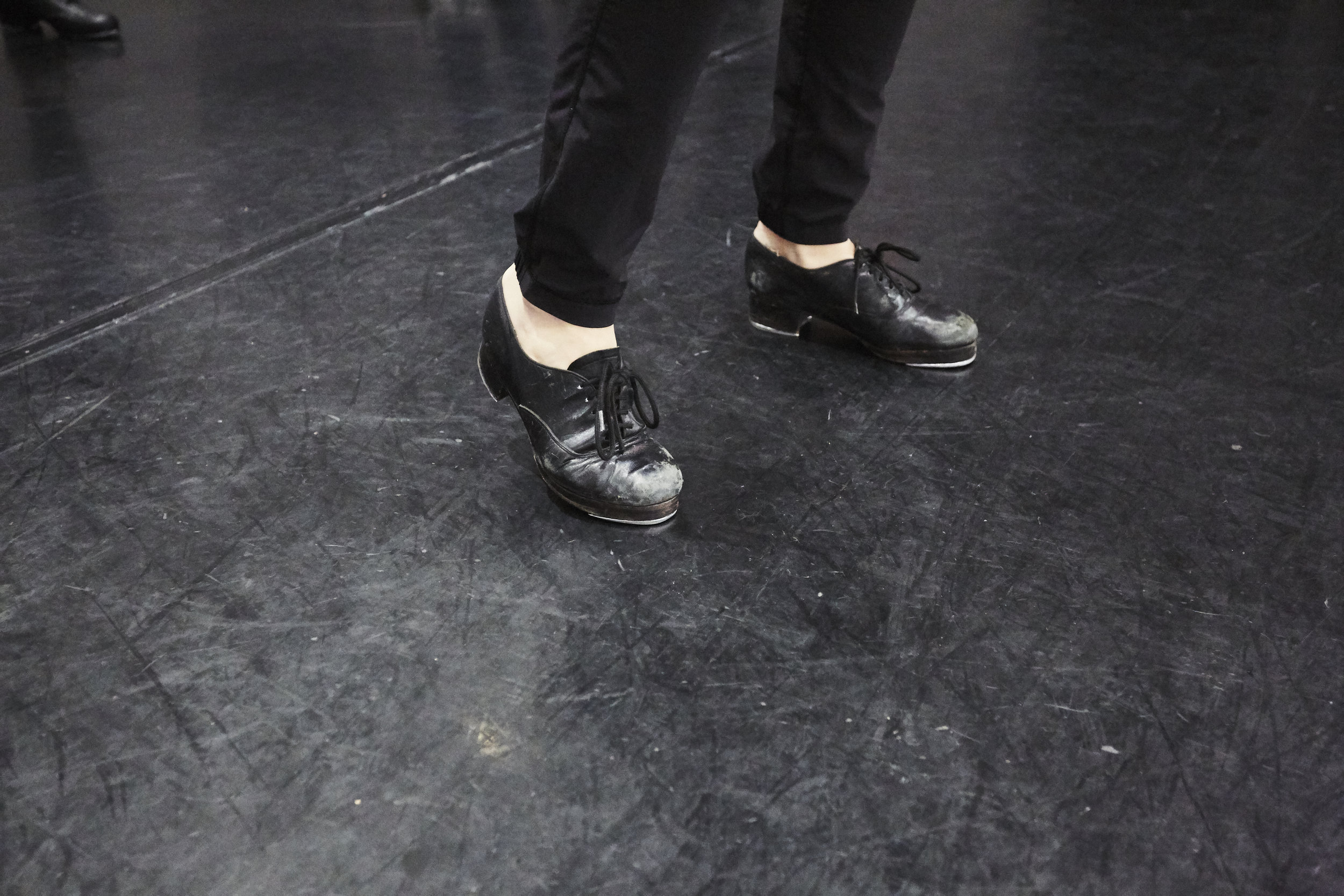 TAP - Tap dance is a rhythmic style of dance combined with Jazz technique. The tap shoes are used as percussive instruments to create sounds while hitting the floor. The class emphasis is on musicality, rhythm, coordination, style and technique.