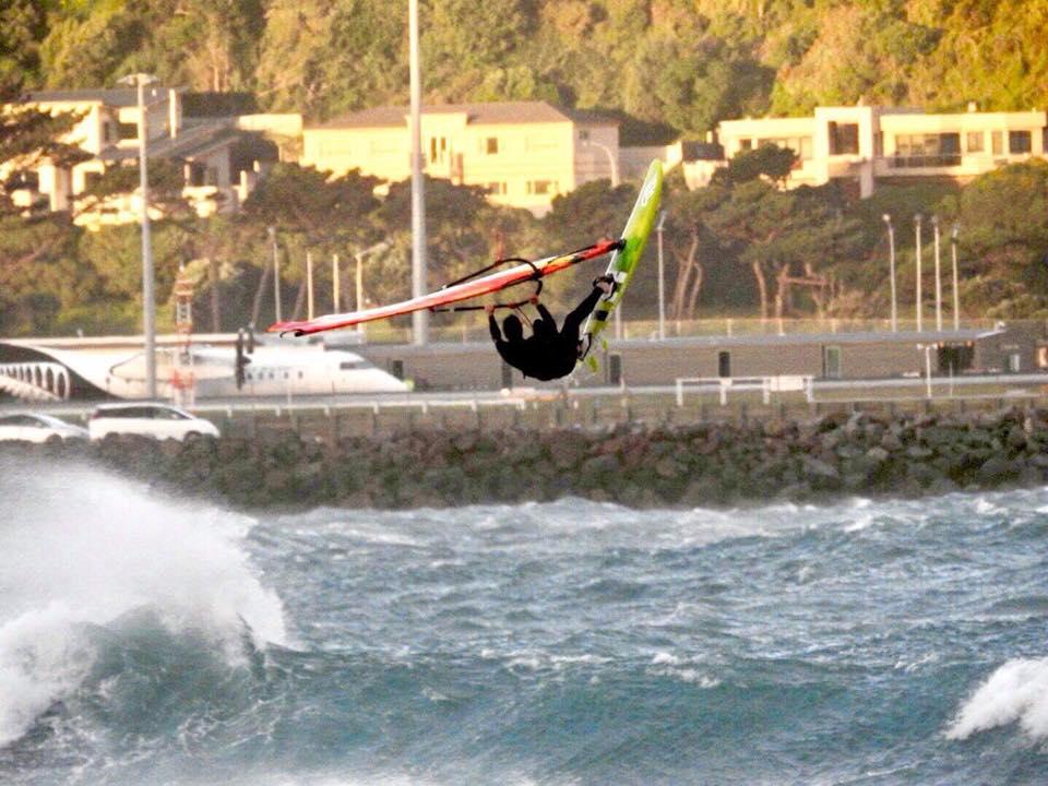 Windsurfing-Lyall-Bay-Event-Wellington NZ