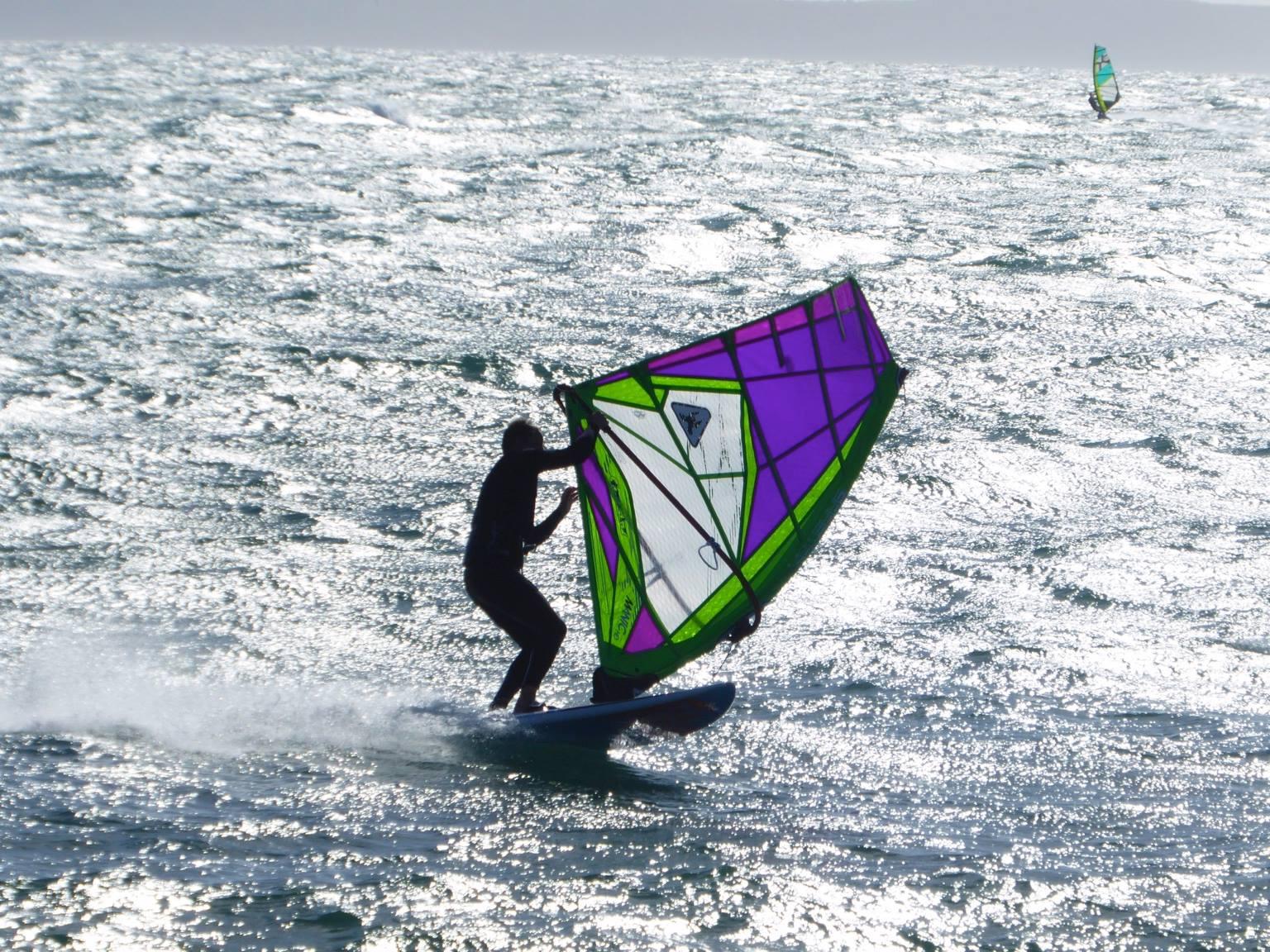 Chris Bolt - Waterbourne Windsurfing Legend