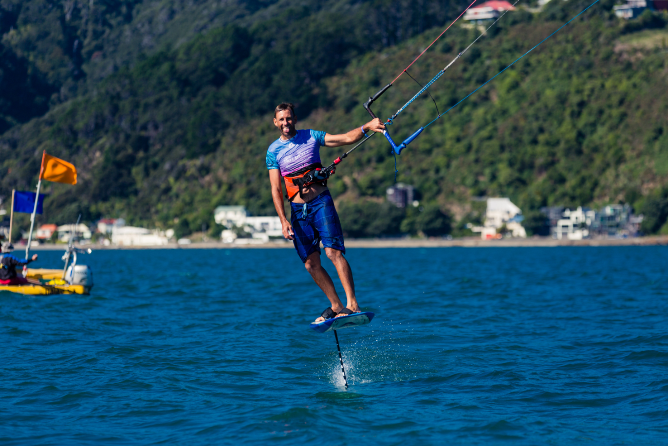 Armie Armstrong - New Zealand foiling expert