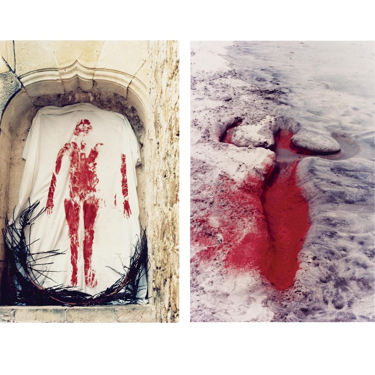 Ana Mendieta  —  Silueta Work , Mexico, 1976