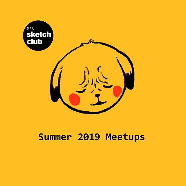 Summer 2019 meeting schedule is up! Check discord and our Facebook group for more details 🔎🔎🔎 #sfusketchclub