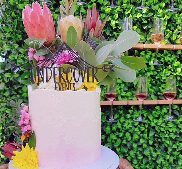 Who loves cake? We sure do! @belletorte made this gorgeous cake for the ladies at @undercover.events  This looked perfect in front of our Champagne Wall filled with champagne and Rose 🍷🍾 . . . If you would like to add a pop of bubbly to your next event contact us through our bio 🔝 #caravanbar #mobilebar #vintage #vintagecaravan #willow #vintagecaravanbar #mclarenvale #mclarenvalewine #mclarencvalewedding #fleurieu #sa #southoz #southaustralia #adelaidehills #adelaidehillswines #hills #barossavalley #barossawines #Adelaide #wedding #adelaidewedding #vintageweddings