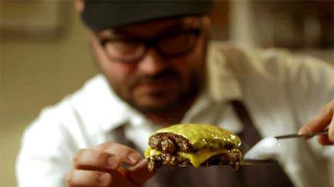 Chef Sean Brock Teaches Cheeseburgers