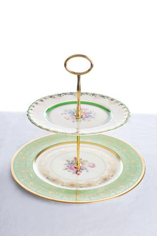 two tier high tea stands I $12.00 each