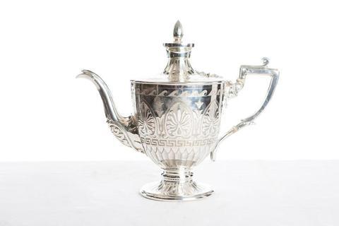 Vintage Silver teapots I $20.00 I Qty 6