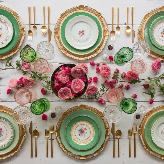 Assorted Vintage dinner plates I $4.00 each I Qty 400