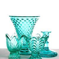 Assorted Vintage Turquoise Vase I $5.00 I Qty