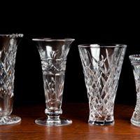 Crystal Vintage assorted Vase I $7.50