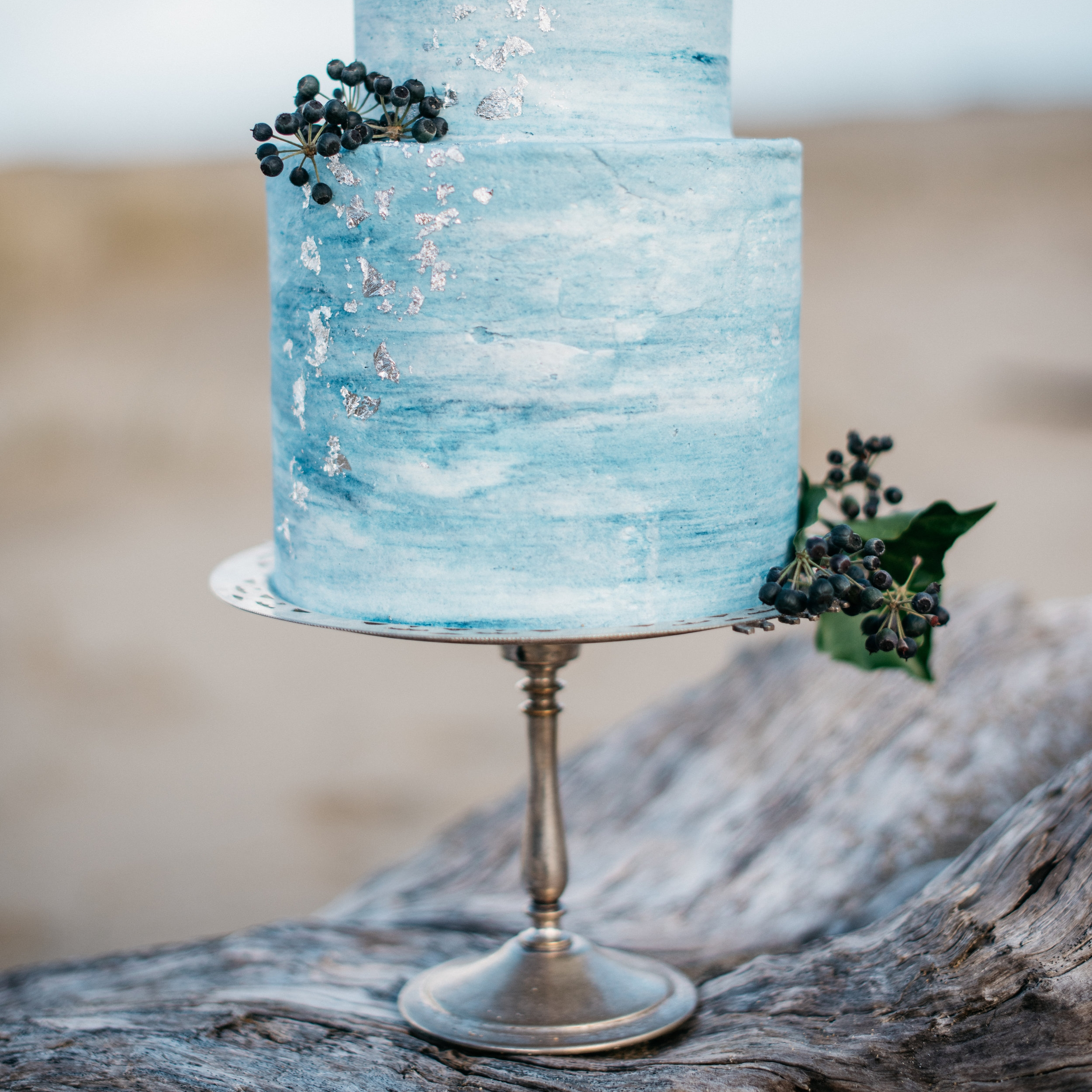 Silver Cake Stand assorted sizes and styles I $30.00