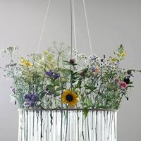 Floral chandelier- Varying sizes I $85.00