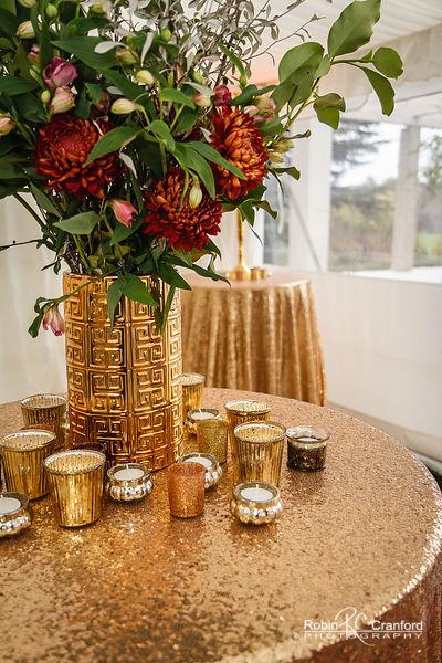 Gold Versace Pattern Vase I $10.00 I Qty 12