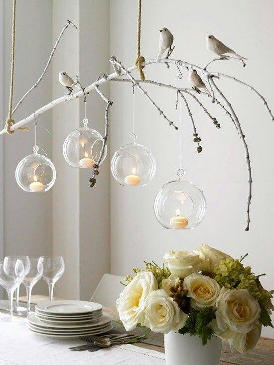 Hanging Glass Spheres I $3.00 I assorted sizes