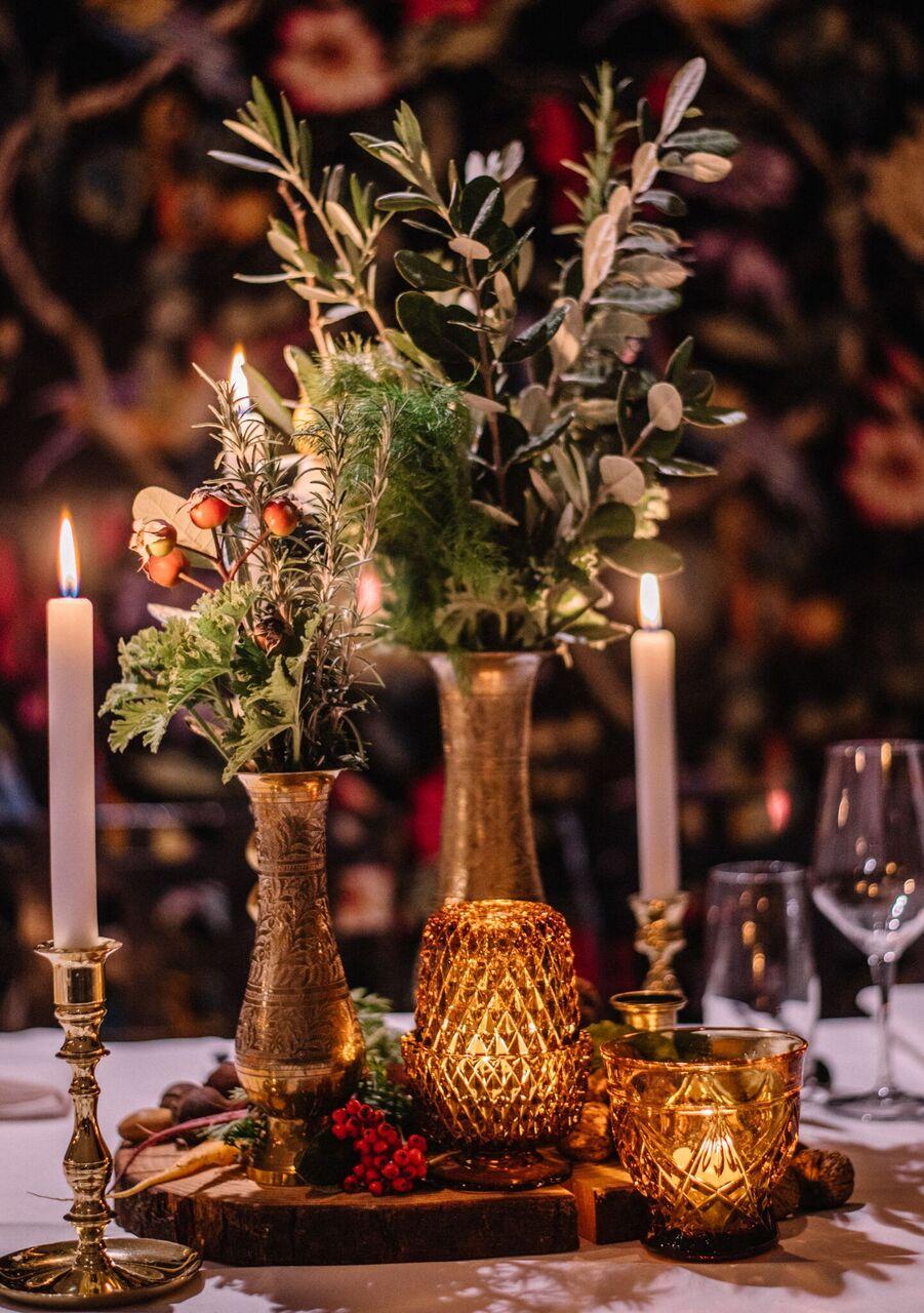 Assorted Brass Vases I $5.00 I Qty 110