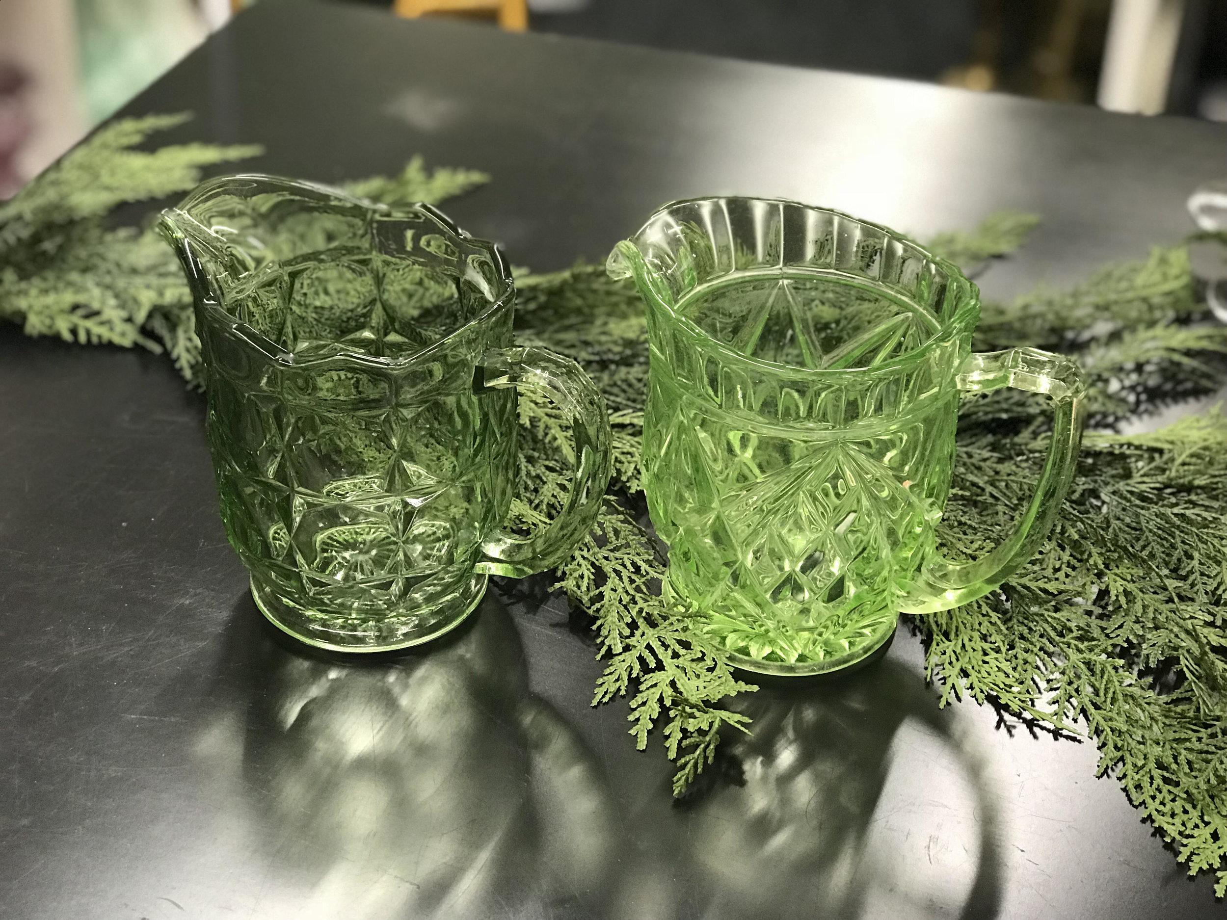 Water Jug Green/Amber I $5.00 each I Qty