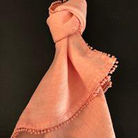 Blush Linen Napkins I $2.50 I Qty 200