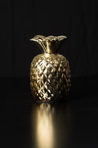 Gold Pineapple Candlesticks I $5.00 I Qty 12