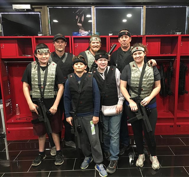 Adults🤜vs🤛Kids  Thank you for coming to play!  Book your session at www.classifiedyyc.com #adultsvskids #lasertag #classifiedyyc #icombat #friendly #tatcial #yyc #yycliving #yycnow #thingstodoyyc