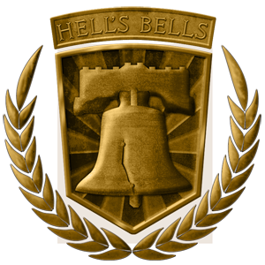 HELLS BELLS  Hells Bells is your Team Work based game. Both teams are fighting head-to-head to hit the Bell the most before the time limit is up. The only way to score points is to shoot directly below the Bell. Every time the Bell gets hit, it dings, letting the opposing team know that you are scoring points.  To win this game Teams must work together and score as many points as possible before the game ends.  RULES:  -All players have 100 Health, Unlimited Respawns  -Respawn at your Base  -Must be directly underneath the Bell to hit it  -Can have as many people hitting the Bell  Team: Alpha Health: 100 Lives: Unlimited  Team: Alpha Health: 100 Lives: Unlimited