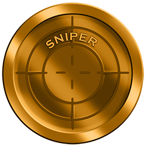SNIPER  Sniper is your skill-based Team Deathmatch but with a twist, accuracy is the key to this mission. There are 2 teams with each player having 1 health and unlimited respawns. One show is all it takes to take out an opponent. Sniper rating is determined by the total number of Eliminations and accuracy percentage.- which means you need to get lots of Eliminations but also be as accurate as possible.  Rules:  All players have 1 Health, Unlimited Respawns  Respawn at your Base  Your team will generate a sniper rating based on total Eliminations combined with accuracy  The team with the highest sniper rating at the end of the game wins  Team: Alpha Health: 1 Lives: Unlimited  Team: Bravo Health: 1 Lives: Unlimited