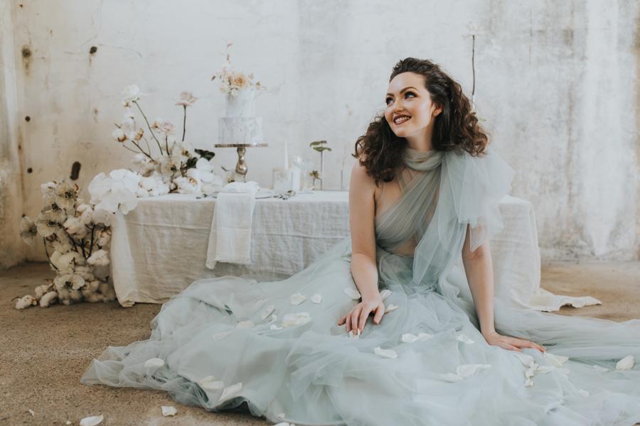 Forgotten Gardens - wedding editorial