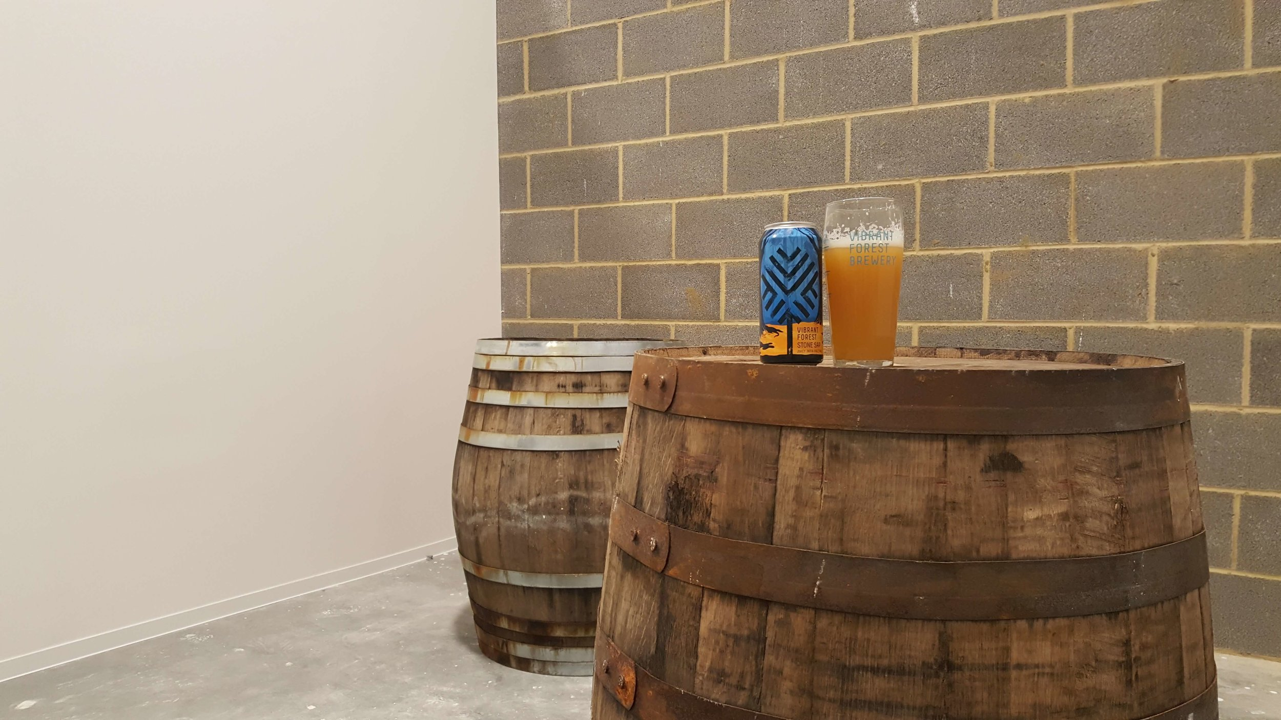 - After a hard day of painting I clearly deserved the first beer in our future taproom!