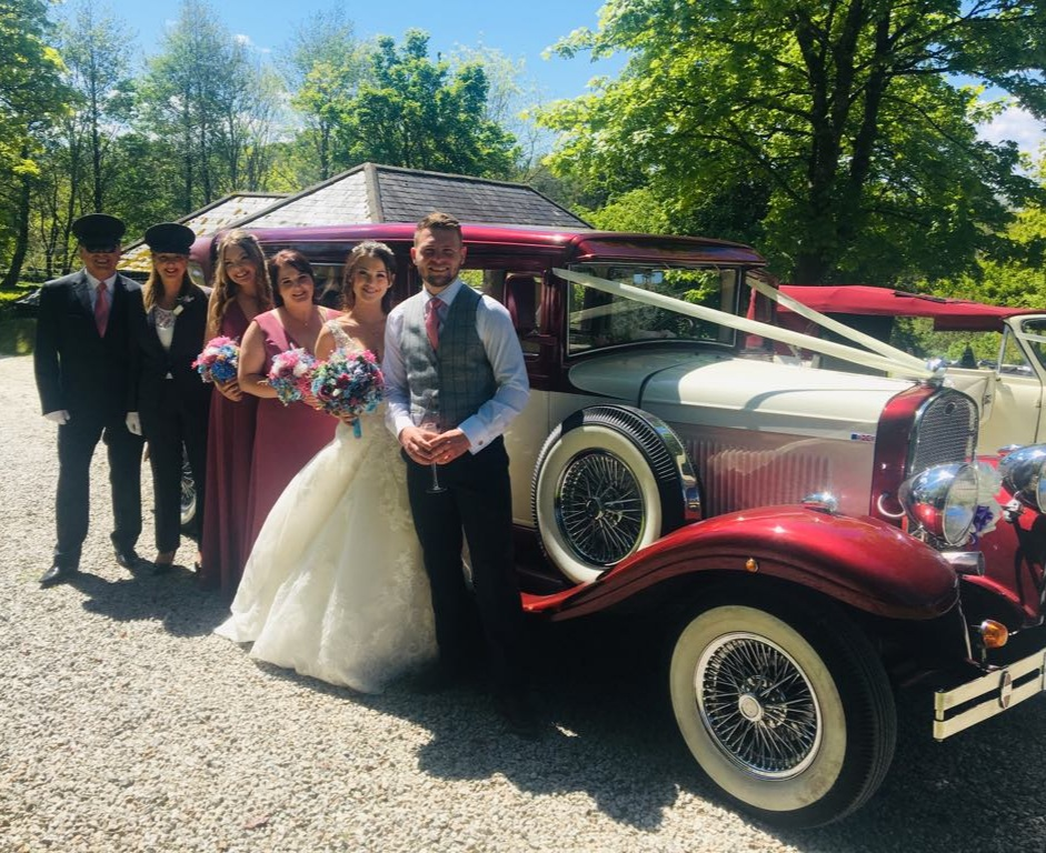 Chelsea From Plymouth - We had two beautiful cars for our wedding on the 11th May 2019. We were blown away by the cars themselves, they fitted everyone in perfectly & had lovely extra touches of the bubbly for after the ceremony! I couldn't praise the service highly enough, both husband and wife were so friendly and couldn't do enough for us!! They made our experience completely unforgettable. Thank you so much again ❤️❤️