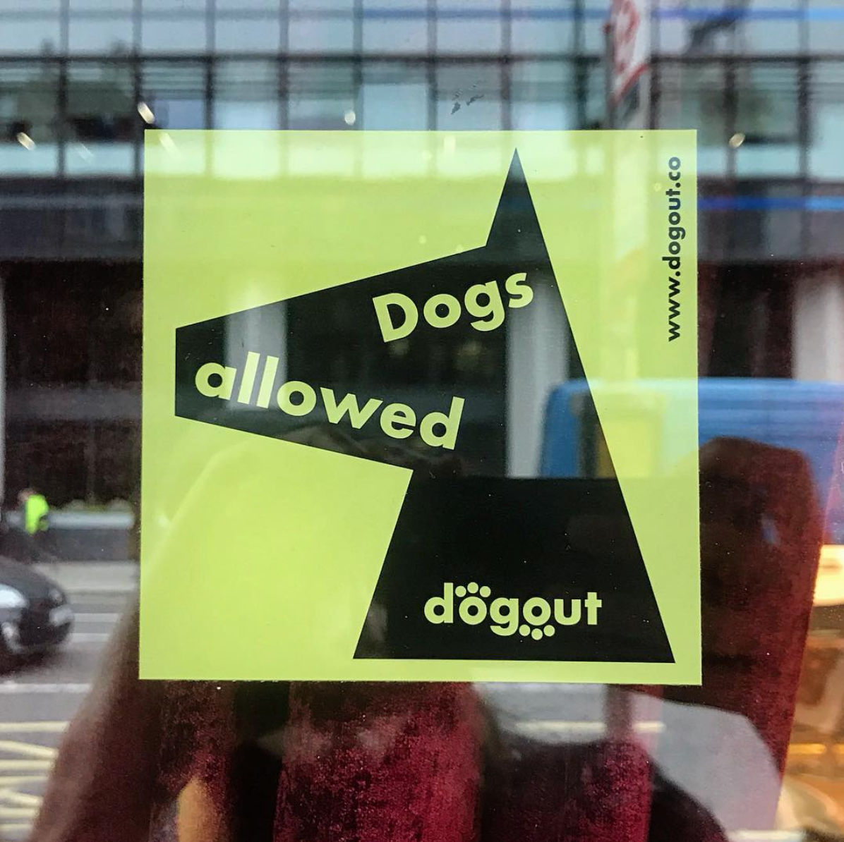 dog friendly stickers dogs welcome