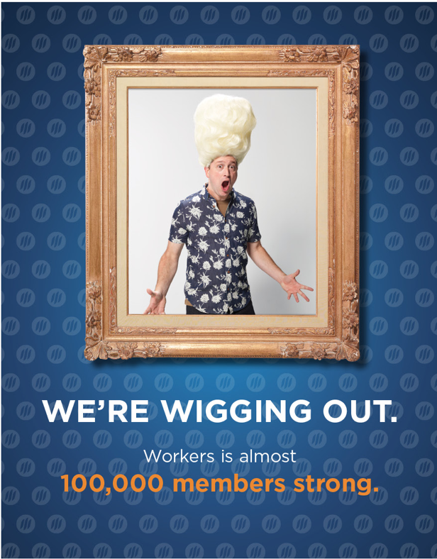 100k member campaign  - Did Big Wigs help the credit union surpass 100,000 members? Ahem. Just sayin'.