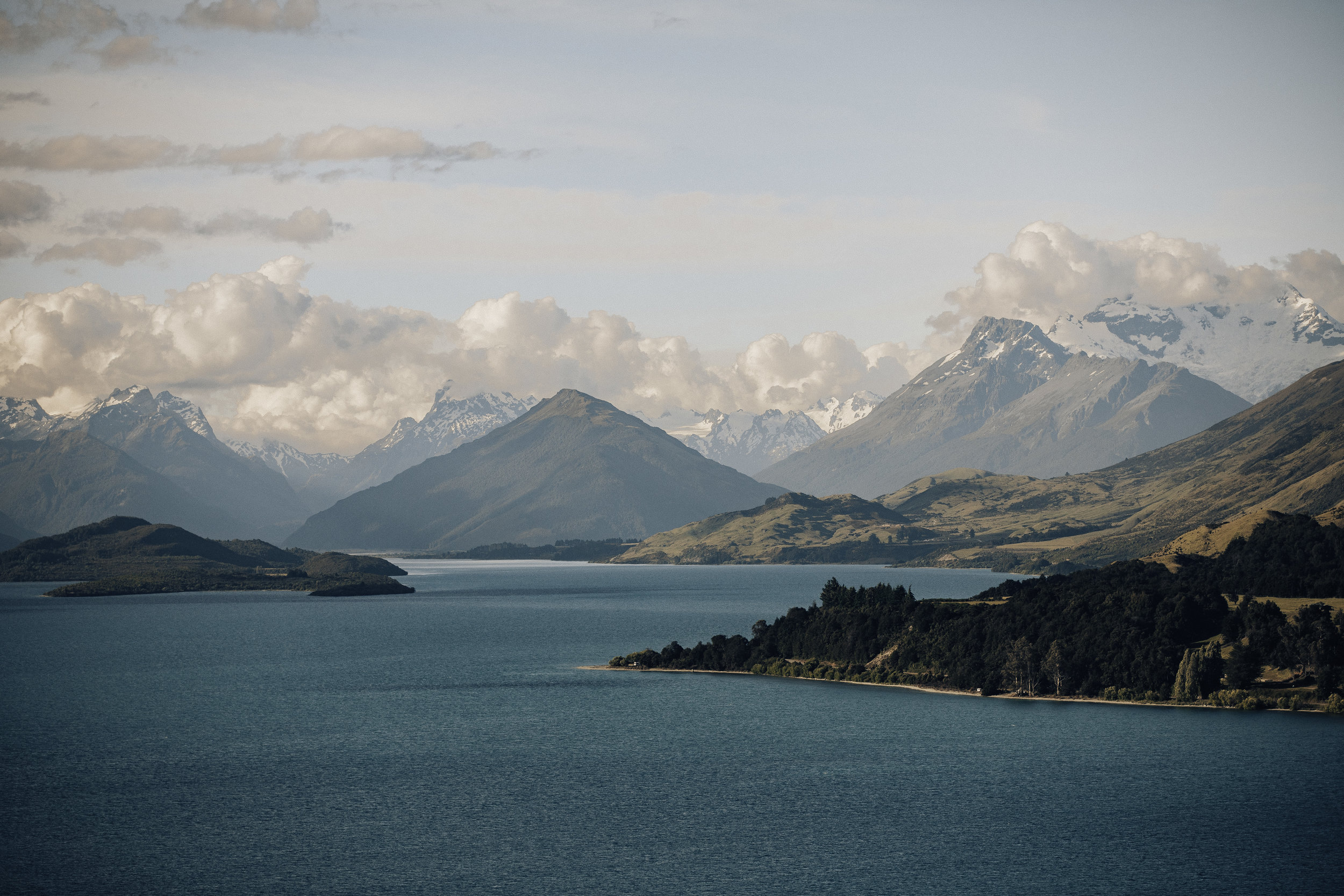 The drive to Glenorchy