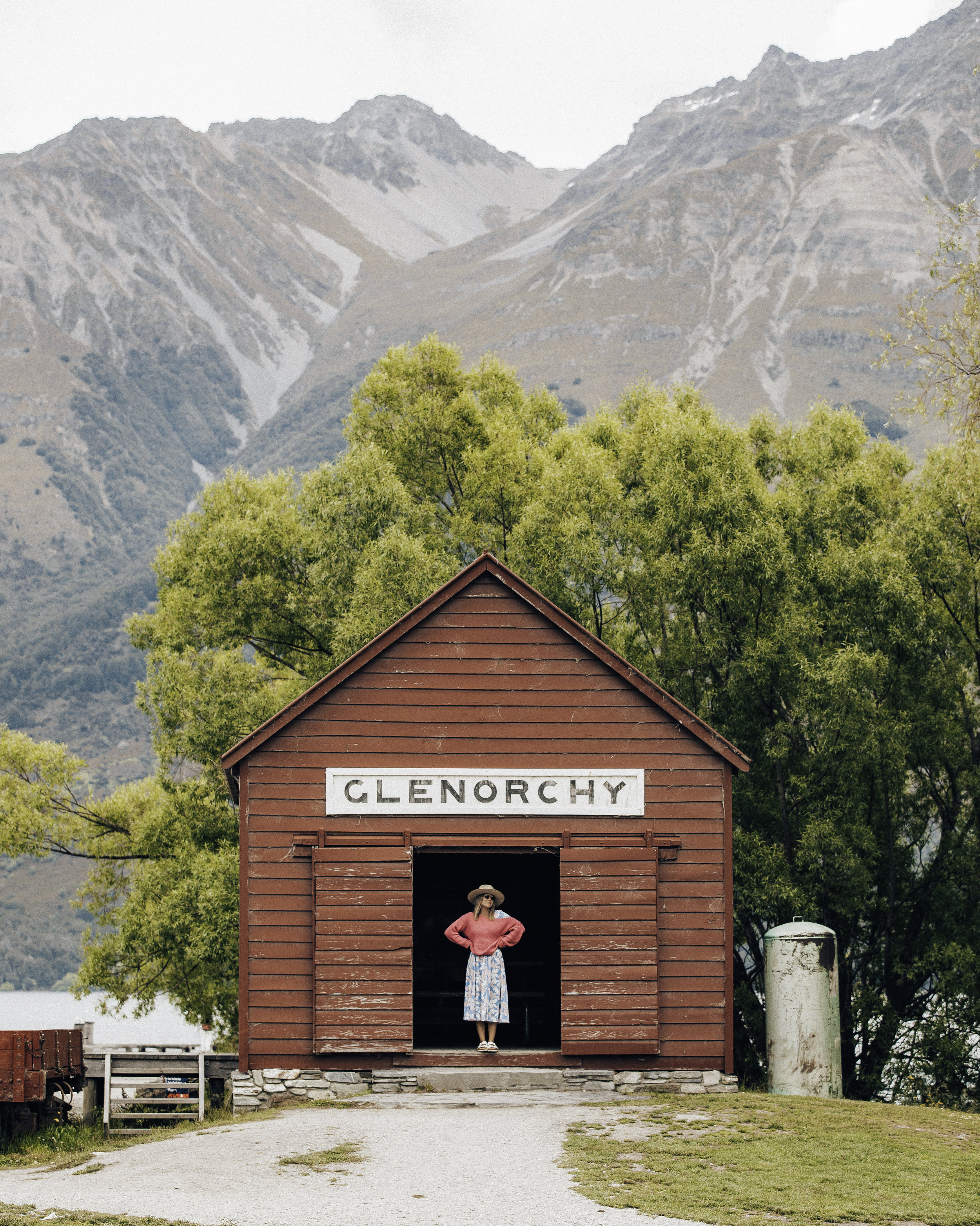 The iconic Glenorchy hut