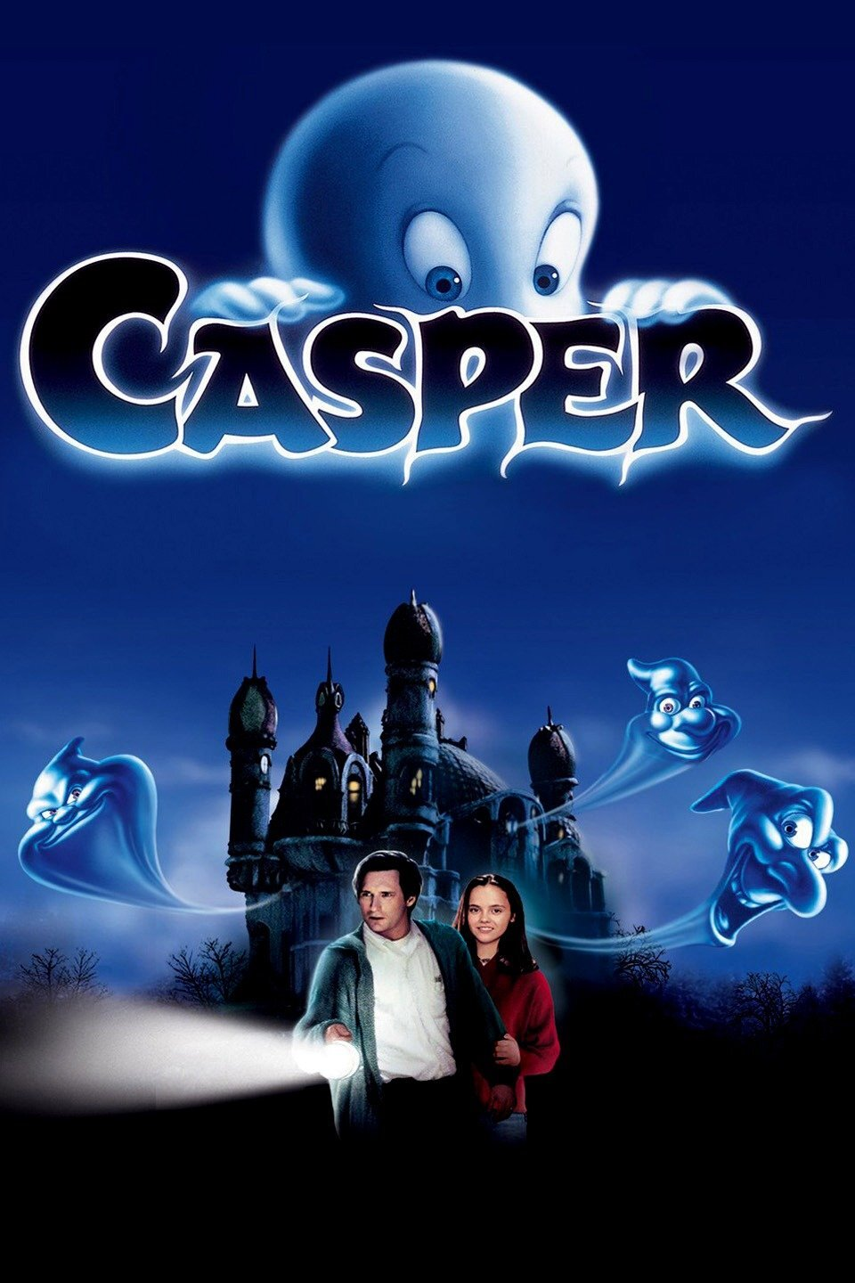 Casper - For the first time ever the Roxy is pleased to bring you FREE Fall Break Movies! Seats are first come first serve. Doors open at 9:20 A.M.! Please remember to pick up a ticket upon your arrival.In the spirit of the season, we will also be offering some fun activities in our lobby during these showings including some early Trick-or-Treating! children's Costumes are welcome. Face mask are prohibited.Casper (PG) (1995)- Casper is a kind young ghost who peacefully haunts a mansion in Maine. When specialist James Harvey arrives to communicate with Casper and his fellow spirits, he brings along his teenage daughter, Kat. Casper quickly falls in love with Kat, but their budding relationship is complicated not only by his transparent state, but also by his troublemaking apparition uncles and their mischievous antics.