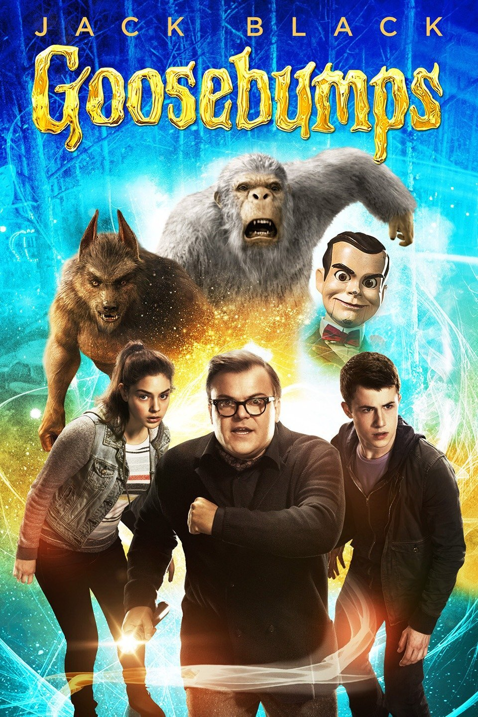 Goosebumps - For the first time ever the Roxy is pleased to bring you FREE Fall Break Movies! Seats are first come first serve. Doors open at 9:20 A.M.! Please remember to pick up a ticket upon your arrival.In the spirit of the season, we will also be offering some fun activities in our lobby during these showings including some early Trick-or-Treating! children's Costumes are welcome. Face mask are prohibited.Goosebumps (PG) (2015)- Upset about moving from the big city to a small town, young Zach Cooper finds a silver lining when he meets his beautiful neighbor Hannah. The teen is surprised to learn that Hannah's mysterious father is R.L. Stine, the famous author of the best-selling