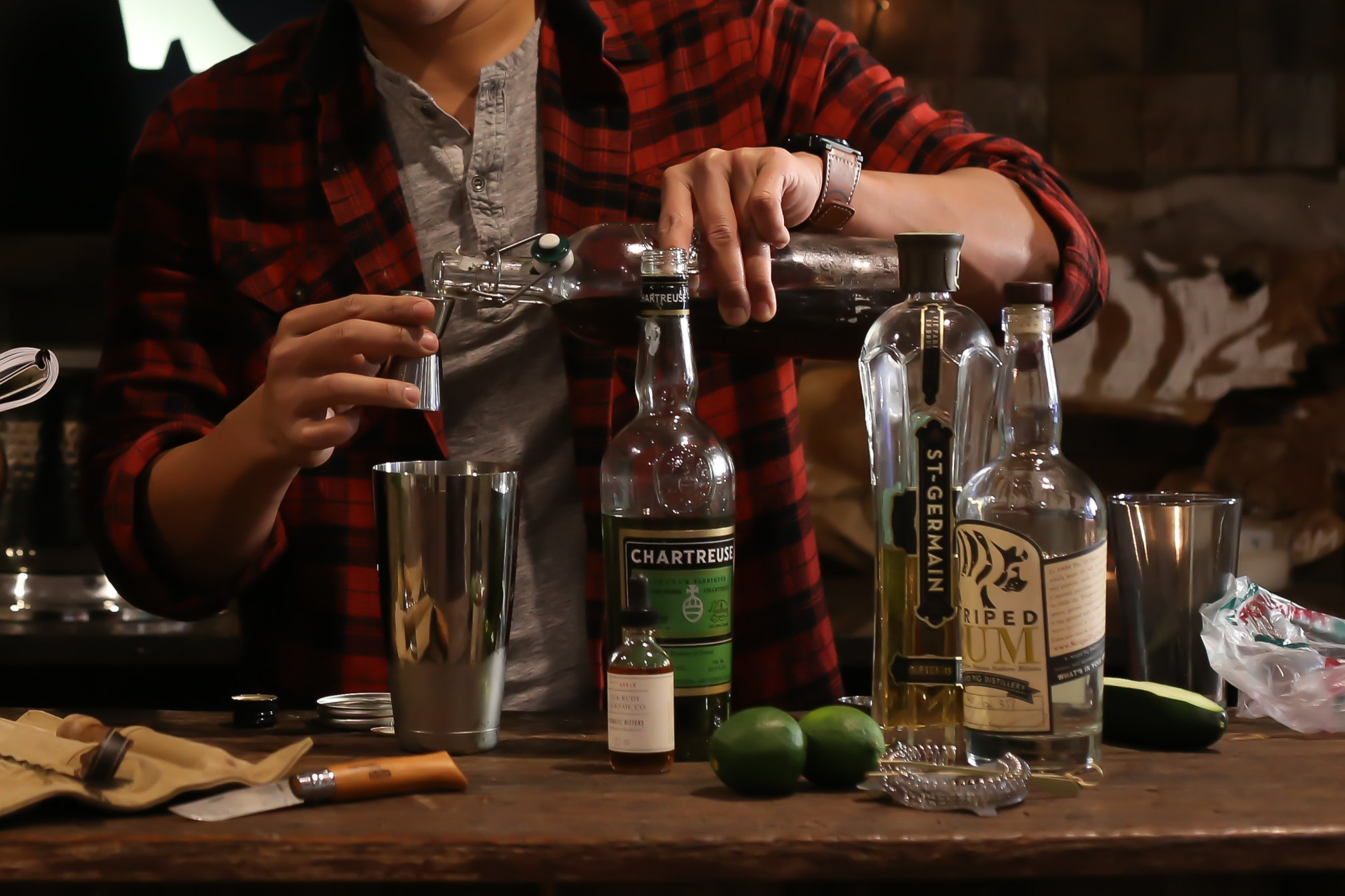 an original recipe - in collaboration with Striped Pig Distillery.