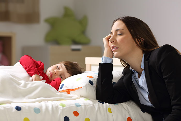 God doesn't fall asleep on the job (like I do!), a blog by Jessica Brodie