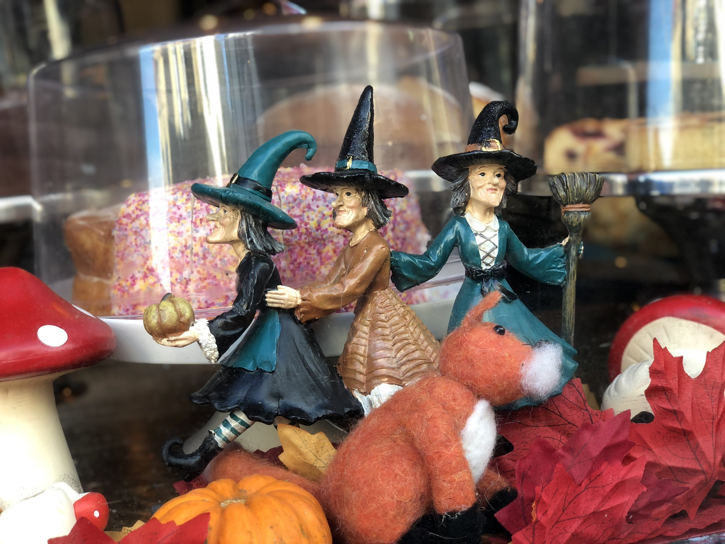 Sherlock's Tearoom Witches in Whitby on Halloween
