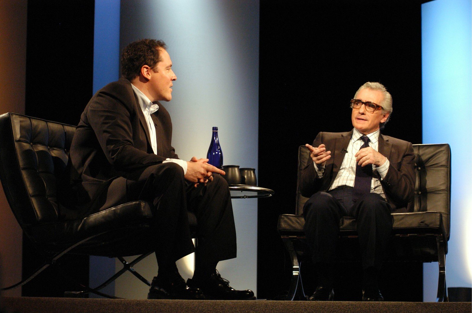 Martin Scorsese and John Favaroe 2004.jpg