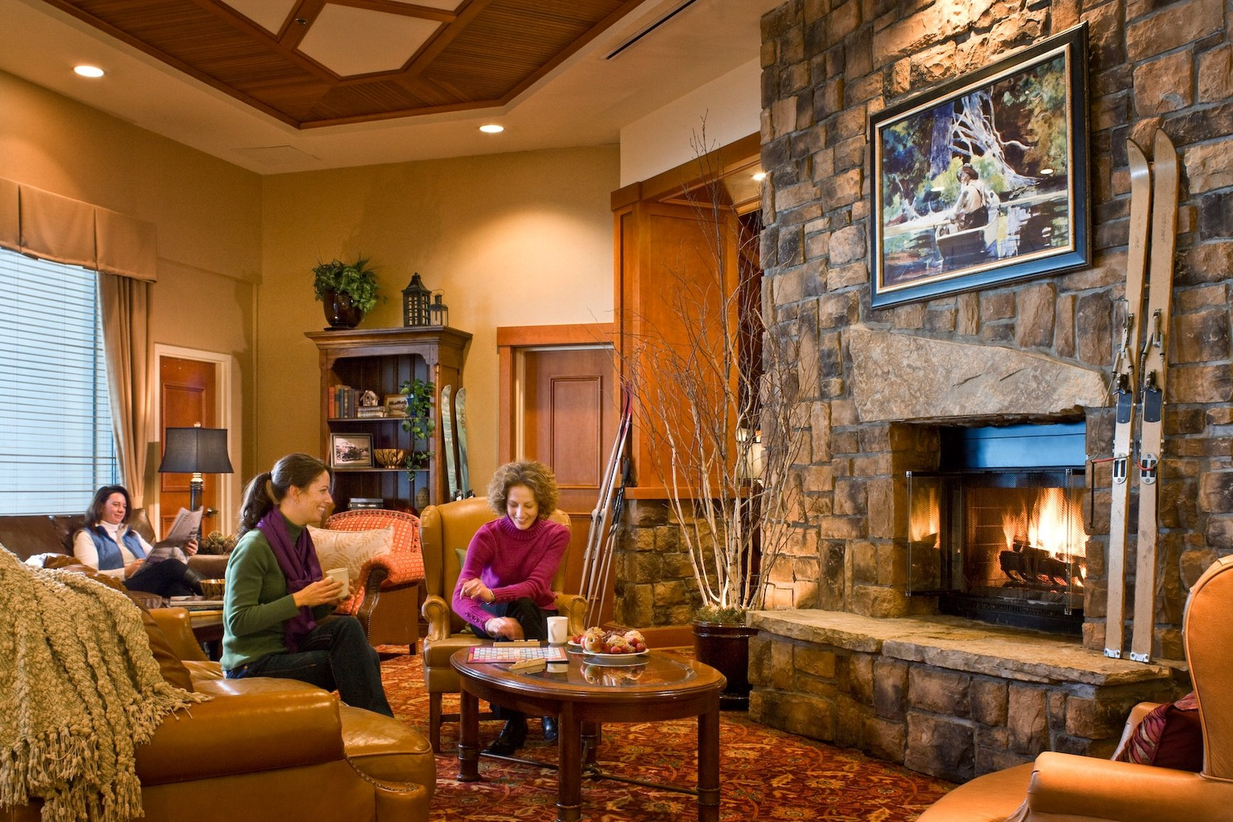 High Peaks Resort fireplace.jpg