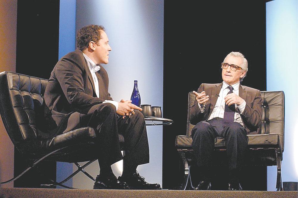 Jon Favreau & Martin Scorsese at LPFF 2004