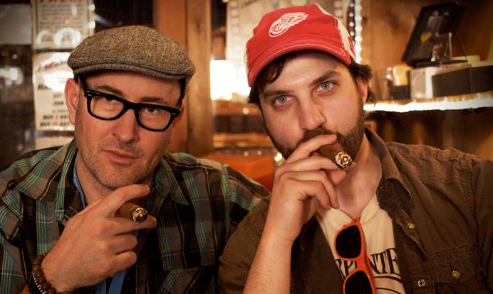 """A Band Called Death"" directors Jeff Howlett & Mark Covino 2014"