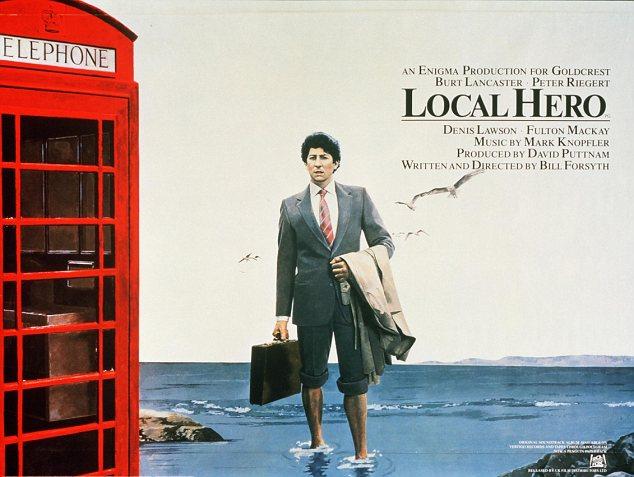 LOCAL HERO - Director: Bill ForsythCountry: United KingdomRun Time: 1 hour 51 minutesLanguage: English