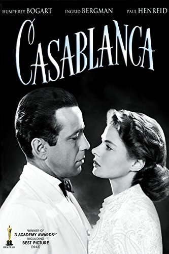 AFS SUMMER FILM SERIES - You Must Remember This: A Classic Is Still a ClassicJoin film historian/author and Turner Classic Movies contributor Jeremy Arnold on Monday, August 12th, at the Strand in Schroon Lake and see CASABLANCA—TCM's choice for the greatest Hollywood movie ever—on the BIG screen like it was meant to be seen!(Click here to read more of our 8/9/19 Newsletter!)