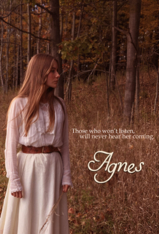 Agnes - Film Synopsis (11 min 21 sec): Will and his sister Agnes share a comfortable country home during the late 19th century. Will is in love with Esther, who lives past the woods and who Agnes suspects is a witch.
