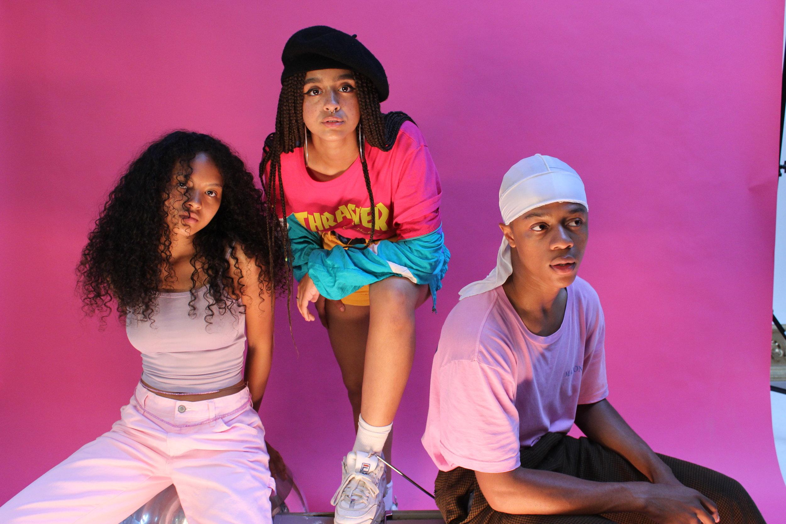 Salima, Kayla, Deandre