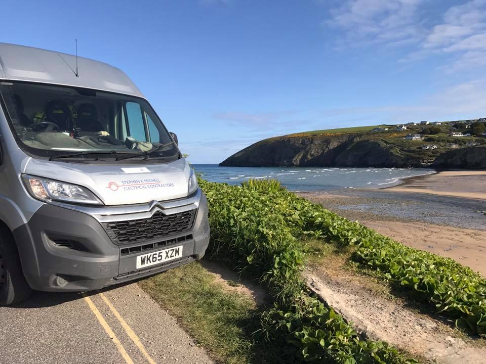 WORKS VAN WITH A VIEW